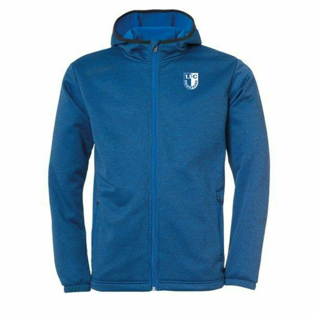 Uhlsport Essential Fleecejacke Azurblau