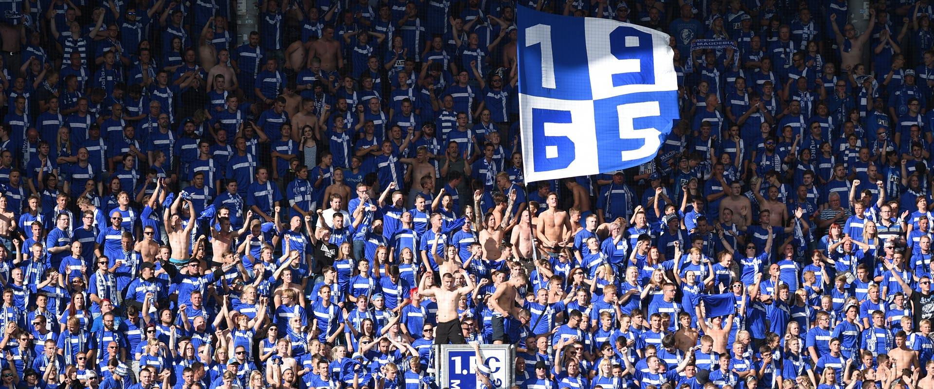Tragetasche 3.Liga 40x40 cm 1.FC Magdeburg Saison 20//21 SONDERPREIS Beutel